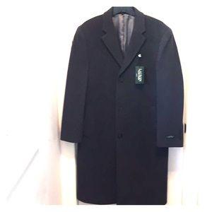 NEW Men's Ralph Lauren Wool/Cashmere Overcoat